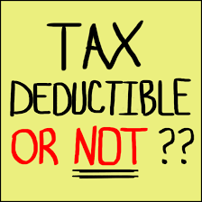 tax deductible or not??